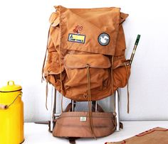 Camp Trails Backpack - boy does that bring back painful memories of backpacking as a skinny 12 yo!