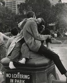 Andre Kertesz- Washington Square Park, New York City.