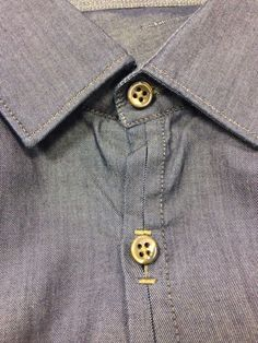 Wholesale gold 4 hole metal shirt button for shirts Fashion Sewing, Mens Fashion, Gents Kurta, Metal Shirts, Plain Shirts, Men Design, Men Style Tips, Sewing Clothes, Fashion Details