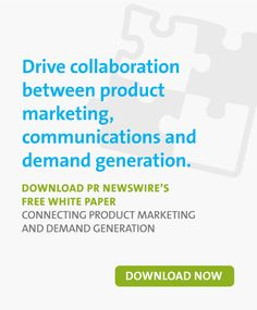 Connecting Product Marketing and Demand Generation Writing A Press Release, Pr Newswire, Marketing Professional, Marketing Ideas, Public Relations, White Paper, Growing Your Business, Content Marketing, Collaboration