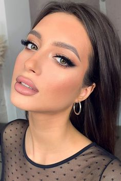 Makeup Tutorial Natural Make Up Beauty Make-up, Beauty Hacks, Hair Beauty, Beauty Bay, Make Up Looks, Skin Makeup, Eyeshadow Makeup, Green Eyes Makeup, Bridal Makeup For Green Eyes