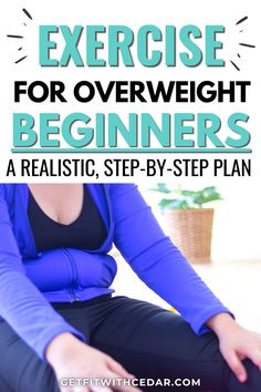 Exercise For Beginners At Home, Easy Workouts For Beginners, Fun Workouts, Best Workout Videos, Beginner Workout At Home, Best Weight Loss Exercises, Weight Loss Workout Plan, Overweight Workout, How To Start Exercising