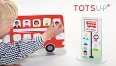 Blog Giveaway!  Win an award winning TOTSUP Red Bus Rewards Chart with accompanying app!  Enter now on the Lylia Rose UK Lifestyle Blog for a chance to win this fab prize!
