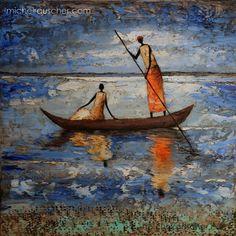 Michel RAUSCHER   Peintures - Huile sur toile - 40x40 cm