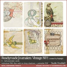 Readymade Journalers: Vintage No. 01