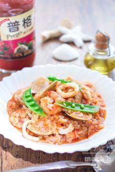 海鮮食譜-即席Easy海鮮義大利燉飯