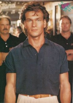 Patrick Swayze the SEXIEST man who ever lived!!!! OMG yes!! IT IS a Swayze day!! You can keep Tatum, Pitt and whoever else... (sorry Mikey