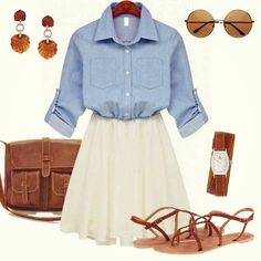 pretty summer work outfit