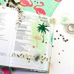 Bible Art Journaling zu Psalm 121