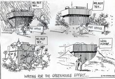 Take action now! Don't let the greenhouse effect do it.