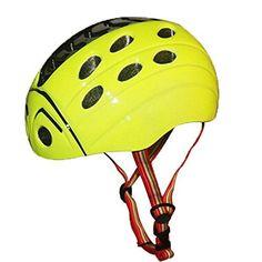 Kids' Bike Helmets - BeBeFun Toddler and kids BikeMultiSport ladybug style hardshell safty Helmet >>> Click image for more details.
