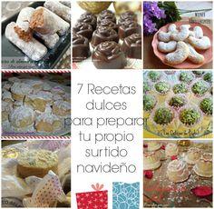 Para estar por casa: 7 Recetas dulces para preparar tu propio surtido navideño