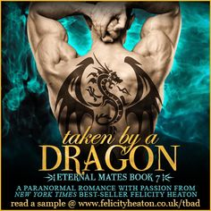 A POSSESSIVE DRAGON WARRIOR. A FIERY ARCHANGEL HUNTRESS. CAN ANAIS RESIST THE DESIRE THAT BURNS BETWEEN HER AND LOKE OR WILL HER HEART BE TAKEN BY THE DRAGON? TAKEN BY A DRAGON, the seventh book in the Eternal Mates romance series is out now! Enter the huge week-long international giveaway for $150 in Amazon Gift Cards and find buy links for Taken by a Dragon at your favourite retailers: http://www.felicityheaton.co.uk/taken-by-a-dragon-paranormal-romance-novel.php