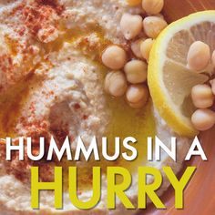 It can be hard to find healthy snacks that are easy and quick to make. Alton has you covered with his Hummus in a Hurry recipe that gives you a heaping helping of hummus in less than fifteen minutes.