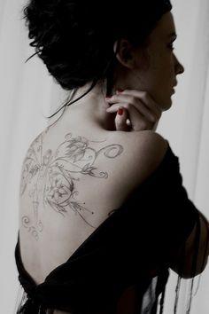 Beautiful tattoos for women - back
