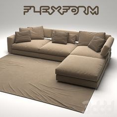 FLEXFORM SOFA Latest Sofa Designs, Turquoise Kitchen Decor, Drawing Room Design, Couch Design, Sofas, Couches, Apartment Kitchen, Modern Materials, Living Room Sofa