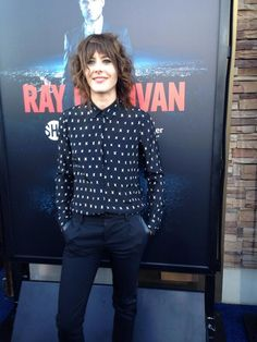 moennigfan:  Kate Moennig, Ray Donovan Season 2 premiere, Malibu, july 9th 2014.  Goddamn