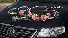 Resultado de imagen para autos decorados para novios Diy Wedding, Wedding Flowers, Just Married Car, Wedding Car Decorations, Wedding Place Cards, Flower Power, Wedding Details, Bouquet, Gifts