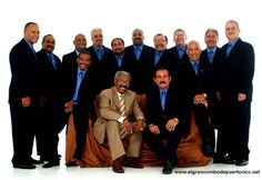 """""""El Gran Combo de Puerto Rico, commonly known as El Gran Combo, is a Puerto Rican Salsa music orchestra. It is Puerto Rico's most successful musical group, and one of the most popular salsa orchestras across Latin America."""" - Wikipedia.org    Played with Celia Cruz, Hector LaVoe and La India"""