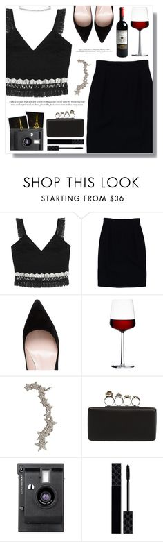 """""""Shimmy Shimmy: Fringe"""" by fashiondiaryy ❤ liked on Polyvore featuring Jonathan Simkhai, Christian Dior, Kate Spade, iittala, H&M, Wild Hearts, Alexander McQueen, Polaroid, Lomography and Gucci"""
