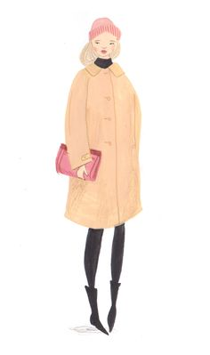 Emma Block Illustrated Street Style for Betty Magazine 3