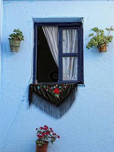 Ventanas, balcones & macetas.... by ToniMolero07, via Flickr