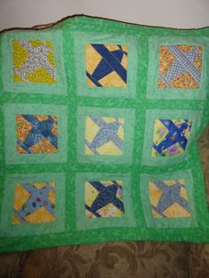 aviation baby quilt - Google Search