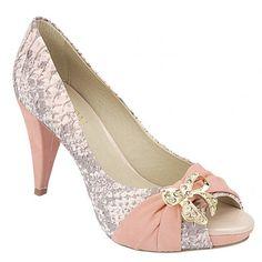 Sapato Feminino Belmon - 13.114 Rosê - 33 ao 43 - Sapatos Femininos, Sandálias, Peep Toes, Calçados em Numeração Especial - Sapato Show