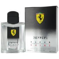 Ferrari Black Shine 4.2 oz Cologne by  Ferrari for Men
