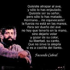 (Facundo Cabral)