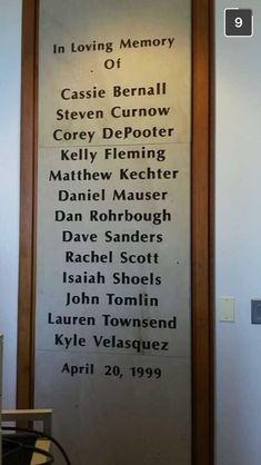 Eric and Dylan don't belong on this list! They weren't victims, they were murderers! Columbine High School Shooting, Columbine High School Massacre, Rachels Challenge, Rachel Scott, Ap Language, Elie Wiesel, School Shootings, Criminology, Level 3