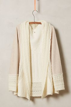 regan mix stitch cardigan / anthropologie