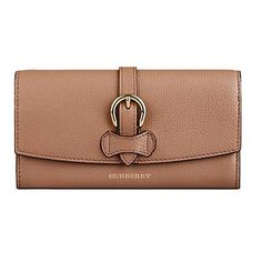 Burberry Buckle Continental Wallet