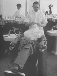 How to get a hot towel like the barbers