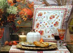 Kissen Herbstmotiv