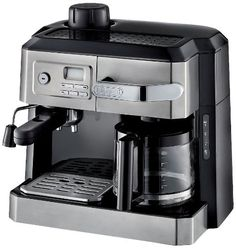 DeLonghi BC0330T Combination Drip Coffee and Espresso Machine *** More info could be found at the image url.