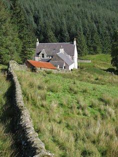 Potburn - Abandoned Farm house on the Southern Upland Way Scotland