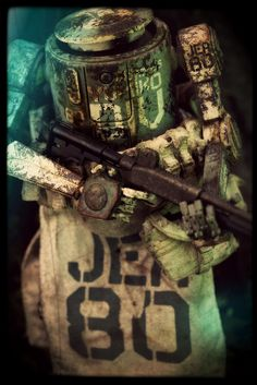 ThreeA World War Robot Portable - Dropcloth [Marine JEA Division] | by Ed Speir IV