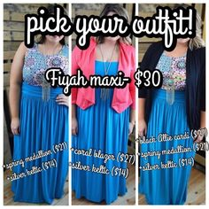 1 skirt, so many choices!!  Click on my link and enter REP10.  You'll get 10% off of every purchase, free shipping, and no tax (except in TX)!!
