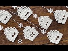 Crochet Snowflake Pattern, Christmas Crochet Patterns, Crochet Snowflakes, Crochet Art, Afghan Crochet Patterns, Thread Crochet, Baby Knitting Patterns, Crochet Doilies, Victorian Christmas Ornaments