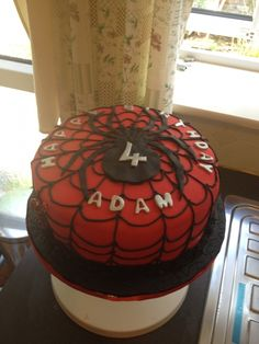 Spiderman Cake by Amy Stafford
