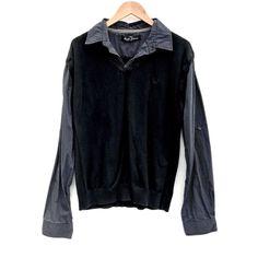 Next Jumper Shirt Mens size XL quality knit wear one piece attached stripes Knit Wear, Jumper Shirt, Click Photo, My Ebay, Boy Outfits, Stripes, Leather Jacket, One Piece, Boys