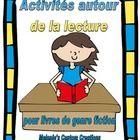 Activites Autour de la Lecture:  French Reading Response Activities