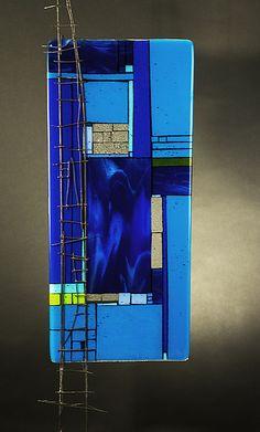 Loft - Blue: Meg Branzetti, Vicky Kokolski: Art Glass Sculpture | Artful Home