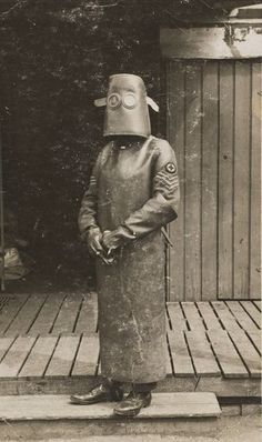 In the early 1800's, doctors were equipped with all the latest surgical attire...