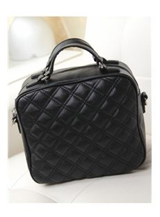 73ff9719cc Eye-catching New Style Plaid Solid Color Women s Crossbody Bag