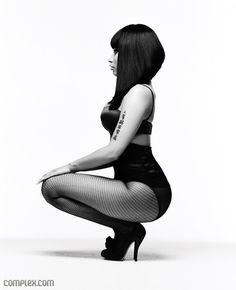 Nicki Minaj - her pose. I want this as a t-shirt