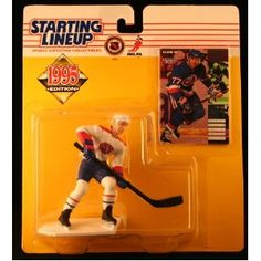 PIERRE TURGEON / MONTREAL CANADIENS 1995 NHL Starting Lineup Action Figure & Exclusive NHL Collector Trading Card (Toy)  http://budconvention.com/zone1.php?p=B000H4E2XU  #newyork