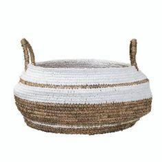 Trouva: Bloomingville Medium Relaxed Raffia Basket