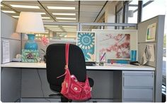 pretty cubicle